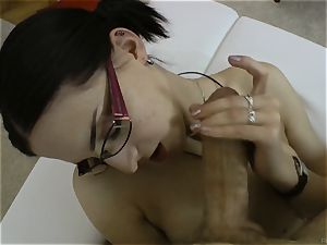 Demitris gets her tickly soles bj'ed off