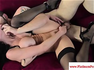 Veronica Avluv gets a mouthful of jism