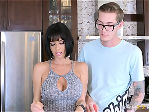 wild mummy Veronica Avluv smashing her sons-in-law crazy mate