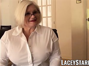 LACEYSTARR - subordinated GILF caboose tucked by Pascal white