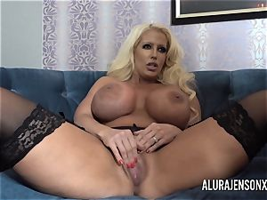 Alura and her big-titted all girl acquaintance Dolly get wild