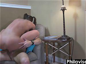 PHILAVISE- great tear up with yoga female Felicity Feline
