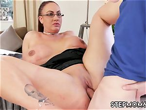 Step mom bought me a stripper thick titty Step-Mom Gets a massage