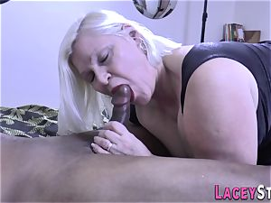 tit-fucking Lacey Starr