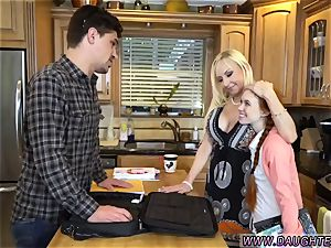 blondie mom and playmate s daughter-in-law 3some very first time Dolly tiny is in need of some