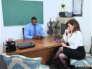 ebony man-meat office handle for Sara Jay