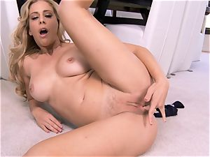 impressive cougar Cherie Deville flashes exactly what she likes