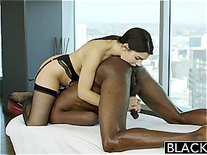 BLACKED marvelous Italian babe Valentina Nappi ass licking ebony guy With passion
