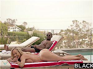 BLACKED cheating milf Brandi loves first ample black trunk