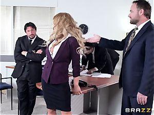 hot secretary Corinna Blake gets lush a cops rigid dick