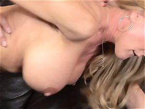 Stepmom Brandi enjoy entices her stepson