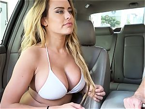 Corrina Blake produces an in car thankyou drill