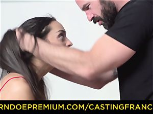audition FRANCAIS - inexperienced bombshell boinked and jizz adorned