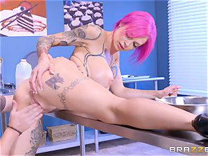 insane Anna Bell Peaks likes deep blowing