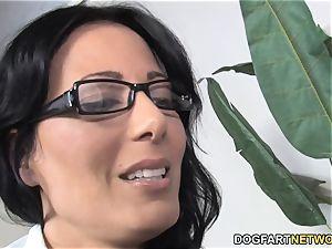 mummy Zoe Holloway ravages Her Patient's phat ebony dick