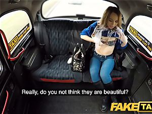 faux taxi super-hot revenge cab pound for handsome stunning minx