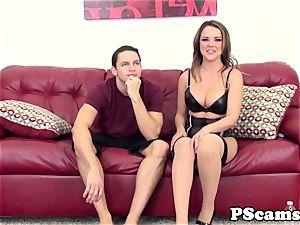 Livechat underwear sweetie Dillion Harper penetrates