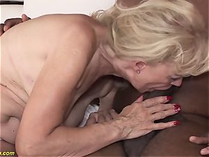 71 years elderly grandmothers first bbc bi-racial