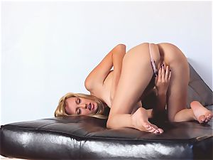 tough Brett Rossi bare and jacking