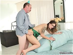 father visit and elderly fellow caught jerking first time Let s soiree you crony s sons of