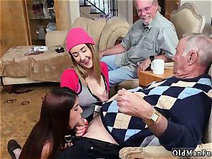 diminutive elderly stud hard-core Maximas Errectis