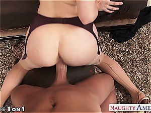 Ginger Penny Pax in pov getting her cootchie rode
