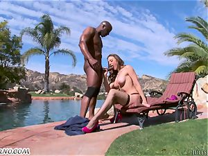 firm rectal torn up with black bull and huge-boobed adult movie star Chanel Preston