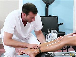 Nina Elle - grope my legs and do rubdown my cunt
