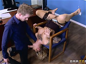 Kleio Valentien fuckpole inserted by Danny D