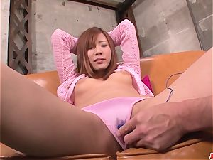 audition for porn finishes with serious pleasures for Yuika