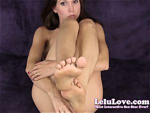 Lelu Love-Dildo Virtual soles jizz shot
