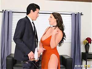 double penetration humped Angela milky won at an auction