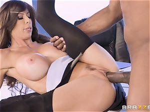 Alexis Fawx boned by huge big black cock