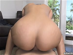 steaming maid Mercedes Carrera does anything to get paid more