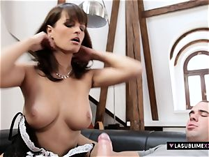 LASUBLIMEXXX Rita Argiles gets enormous manhood in her honeypot