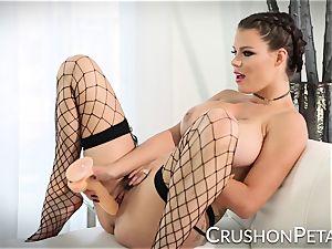 ideal body sex industry star Peta Jensen porks herself