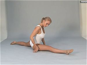 Russian standing stretches by Vetrodueva