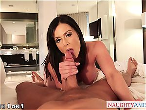 Housewife Kendra zeal take prick in point of view style