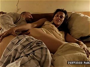 pervy sister trying ass fucking with her bro