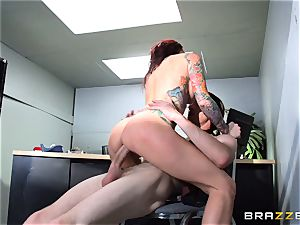 Monique Alexander taking every inch of Danny D
