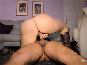 HausfrauFicken - Mature German bbw in unexperienced plow flash