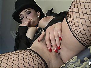 Baroness Liza manhandling her staff again