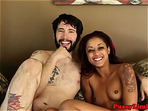 tattooed bitch desire plumbed rough and hard