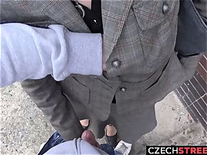 Czech milf assistant Pickup up and plumbed